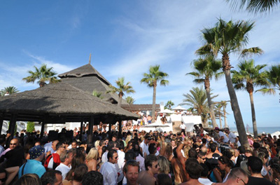 Marbella's social scene attracts a lot of visitors
