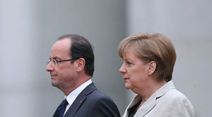 "France and Germany ""determined"" to save Euro"