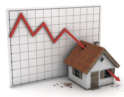 Property prices continue to fall